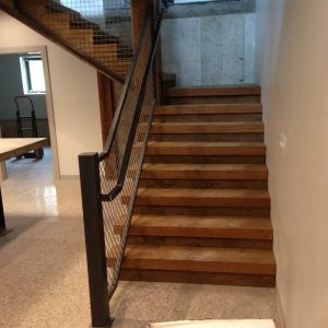 Custom Handrail - Steel Fabrication