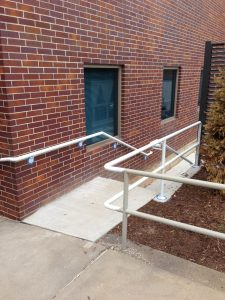 Metal Handrail - O-lathe, Johnson County, Kansas City